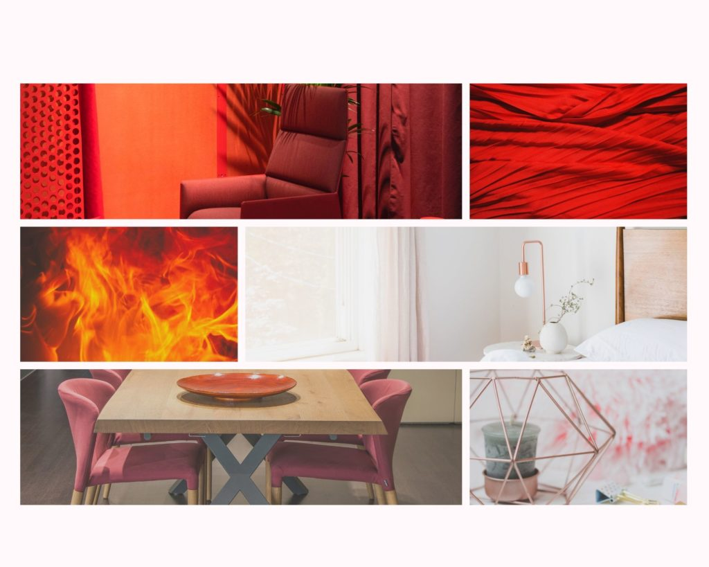 Aspiración y elementos decorativos de una habitación orientada en el sur según el Feng Shui.
