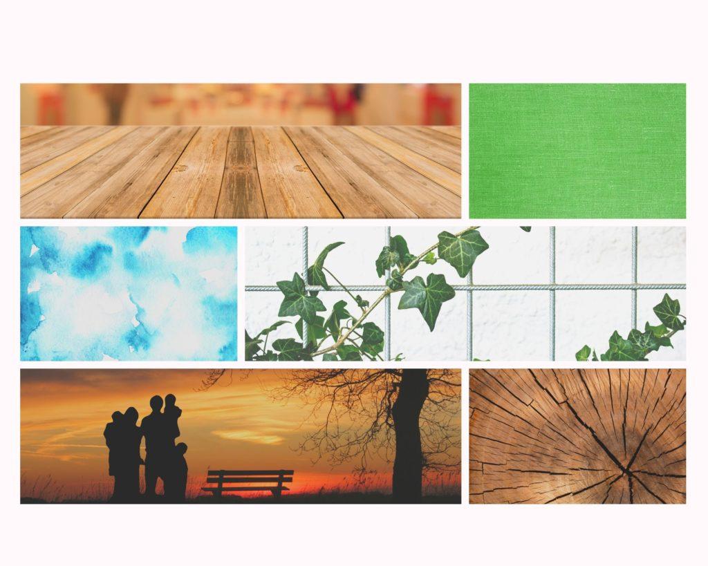 Aspiración y elementos decorativos de una habitación orientada hacia el este según el Feng Shui.