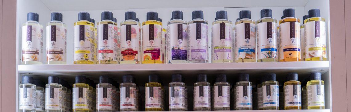 Exposición de producto Boles d'olor